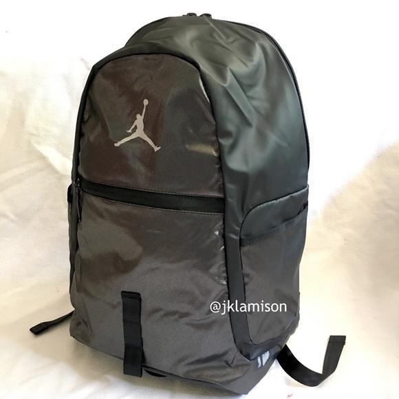 Nike AIR JORDAN Reflector Backpack -Black Metallic ed2db0dc151b2